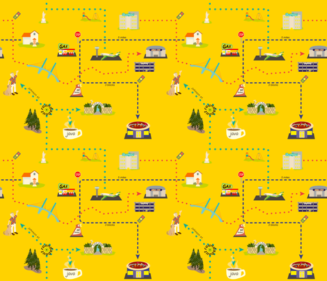 Thataways fabric by whatsit on Spoonflower - custom fabric