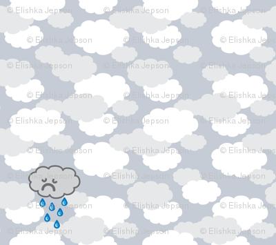Sad Little Rain Cloud