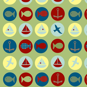 lakeside icons - green