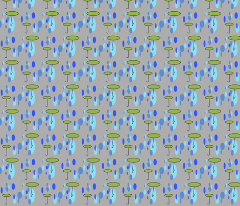 rain-ed fabric by mobelladesigns on Spoonflower - custom fabric