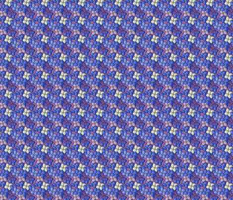 ©2011 orchid hydrangea fabric by glimmericks on Spoonflower - custom fabric