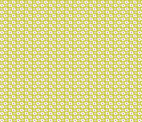 Cache Cache flowers fabric by betje on Spoonflower - custom fabric