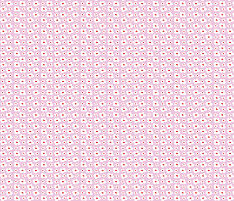 cache cache flowers pink fabric by betje on Spoonflower - custom fabric