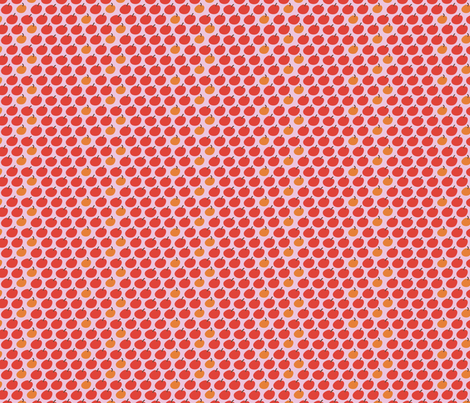 mapsapplespink fabric by betje on Spoonflower - custom fabric