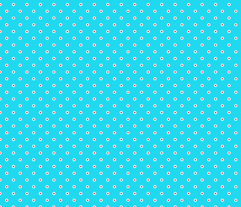 pois_fond_bleu_2 fabric by nadja_petremand on Spoonflower - custom fabric