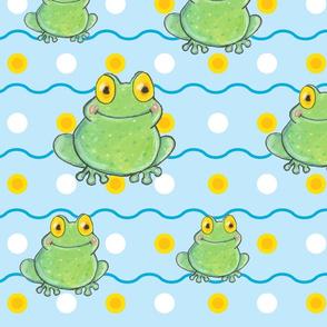 Baby Polka-Frog