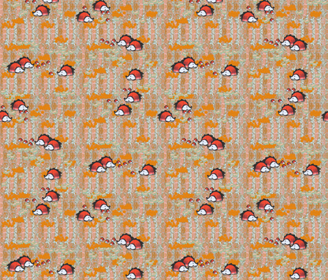 hedgehog_ground fabric by taramariebee on Spoonflower - custom fabric