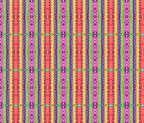 Alphabet Stripes fabric by robin_rice on Spoonflower - custom fabric