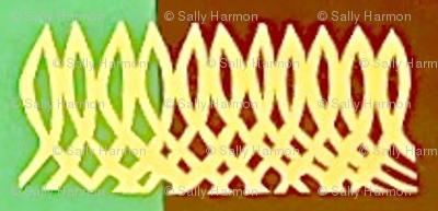 Calligraphic Checkerboard