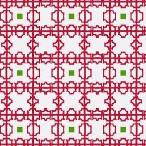 Chinoiserie Fretwork Christmas Screen