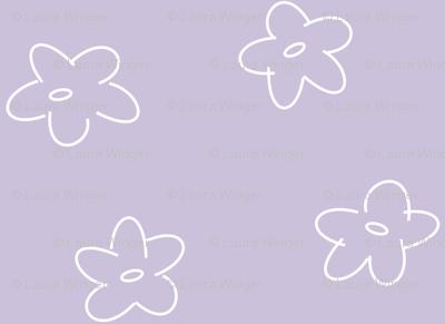 Flowery Scribbles 005