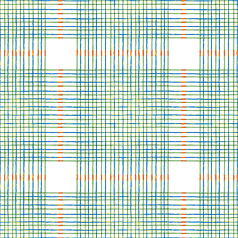 Summertime - Check fabric by kristopherk on Spoonflower - custom fabric