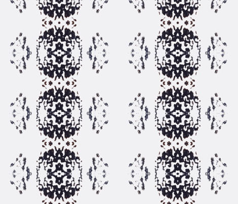 Shoop White Vertical fabric by funkaestudio on Spoonflower - custom fabric