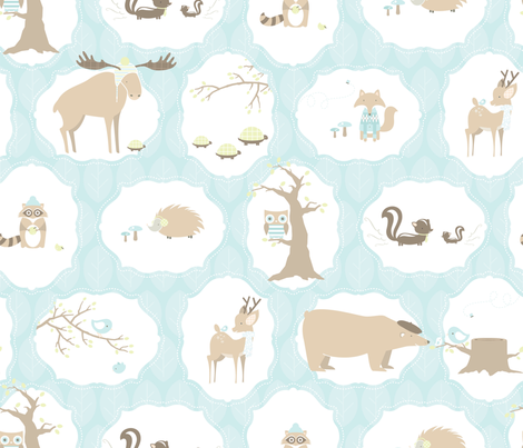 Sweethearts & Scoundrels fabric by jessichka on Spoonflower - custom fabric
