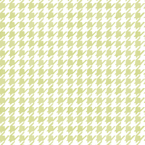 Houndstooth - Backyard Grass fabric by pattysloniger on Spoonflower - custom fabric