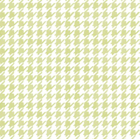 Houndstooth - Backyard Grass fabric by pattysloniger on Spoonflower - custom fabric
