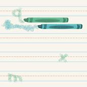 crayon practice