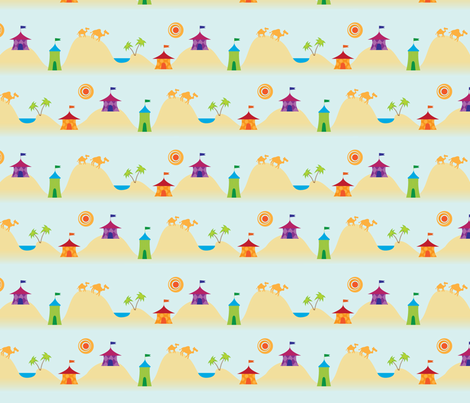 Caravan fabric by bethnovak on Spoonflower - custom fabric