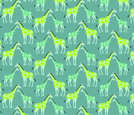 Tall Spots fabric by thumbkin on Spoonflower - custom fabric