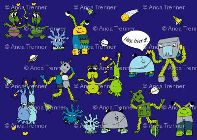 Robos and friends