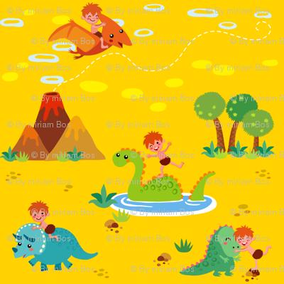 Fun with Dinosaurs | Yellow