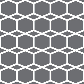 Modern Lattice BlueGrey