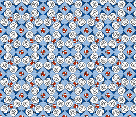 ©2011 wlbamo-ballssnails fabric by glimmericks on Spoonflower - custom fabric