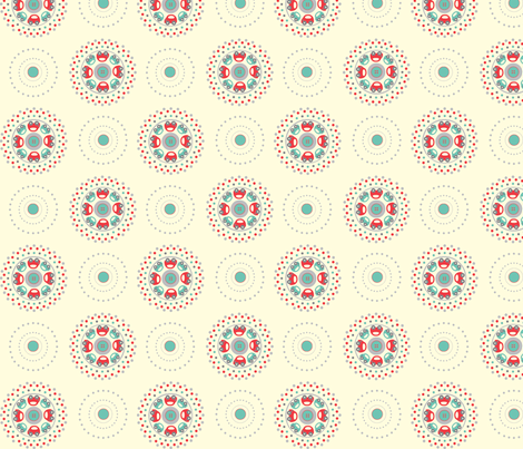Cars_red-grey fabric by juliamo on Spoonflower - custom fabric