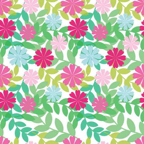 Let´s go Hawaii fabric by martinaness on Spoonflower - custom fabric