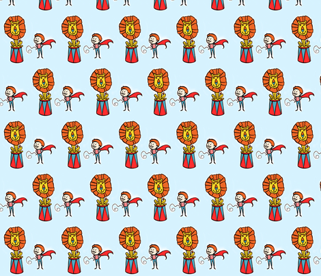 Brave Heart fabric by kassi_isaac on Spoonflower - custom fabric