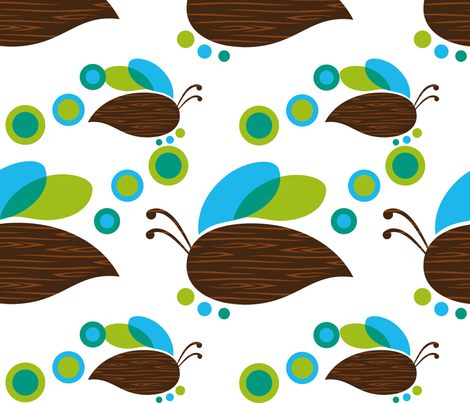Sweet Bee fabric by pixlamod on Spoonflower - custom fabric