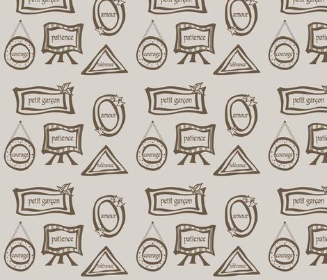 petit garçon fabric by seamstress*for*the*band on Spoonflower - custom fabric