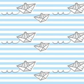 Hello Paper Boats