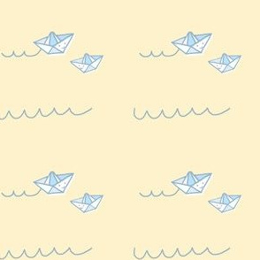 Paper Boats for Baby
