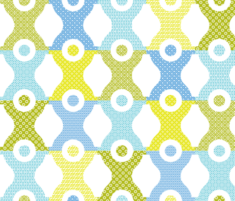 Stacking Block Boys fabric by happysewlucky on Spoonflower - custom fabric