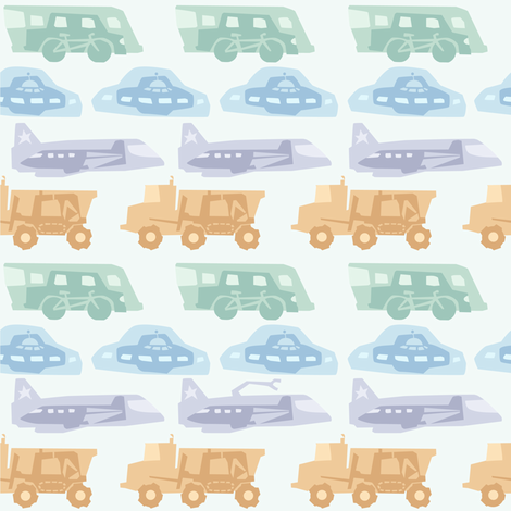 Transport fabric by theboerwar on Spoonflower - custom fabric