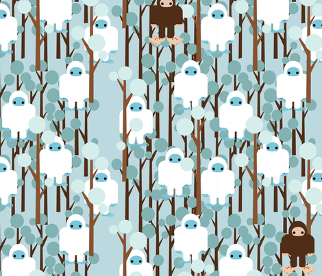 Lost in Yeti Forest