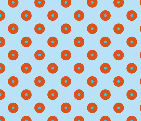 pois_fond_ciel_ fabric by nadja_petremand on Spoonflower - custom fabric