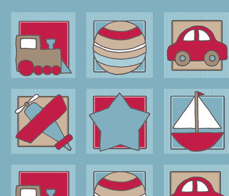 Planes__Trains___Automobiles fabric by lakeblissstudio on Spoonflower - custom fabric