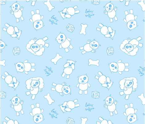 Baby Ruffus fabric by paulap on Spoonflower - custom fabric