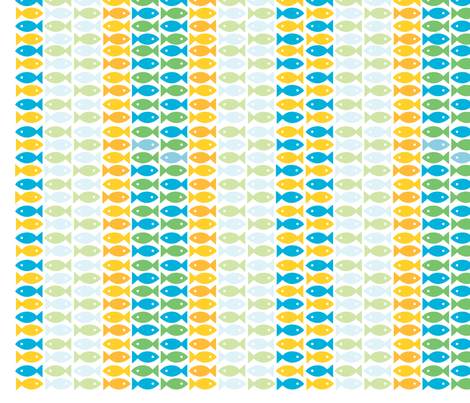 littlefishies fabric by annemarieoconnell on Spoonflower - custom fabric