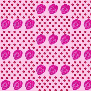 Rose et Rosace in Pink