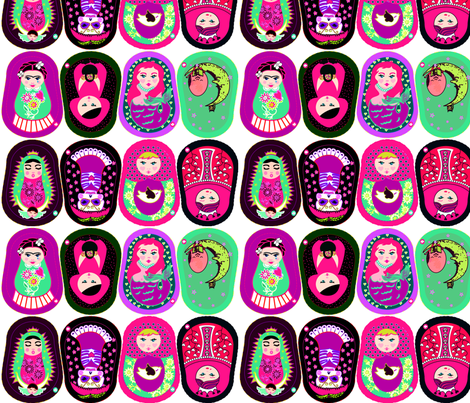 Small Gurushkas fabric by gurumania on Spoonflower - custom fabric