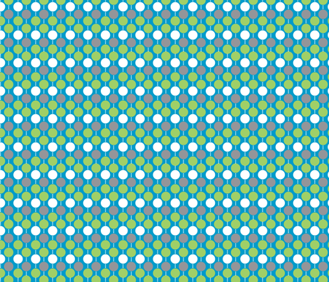 Oh Boy! Beaded Dot Blue Green fabric by melaniesullivan on Spoonflower - custom fabric