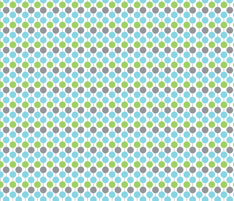 Oh Boy! Beaded Dot Light fabric by melaniesullivan on Spoonflower - custom fabric