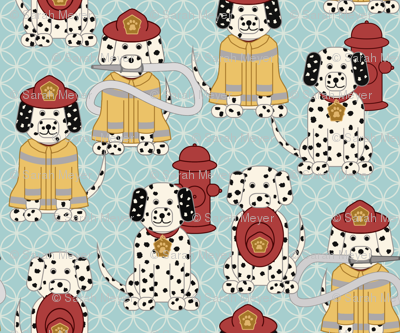 Dalmatian Firefighters