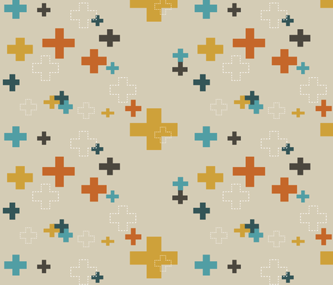 NewAddition fabric by mandi_miles on Spoonflower - custom fabric