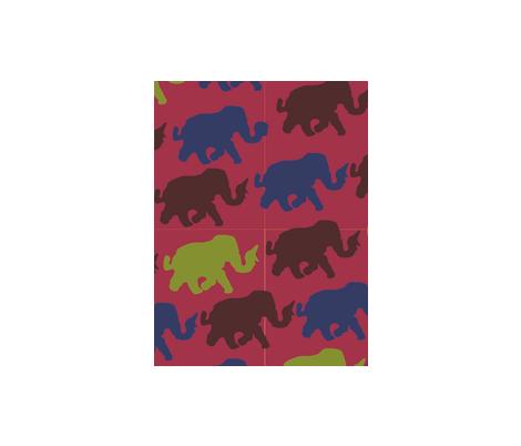 repeat_elefanten-2 fabric by sonken on Spoonflower - custom fabric