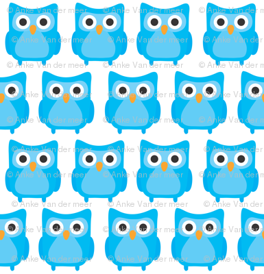 Sweet Blue Owls