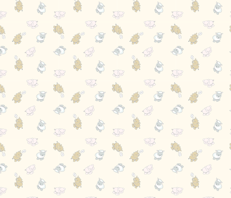 farm-mariahdemarco fabric by mariah_demarco on Spoonflower - custom fabric